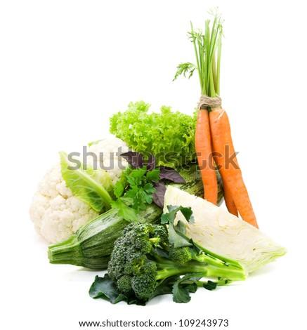 Fresh vegetables, healthy food