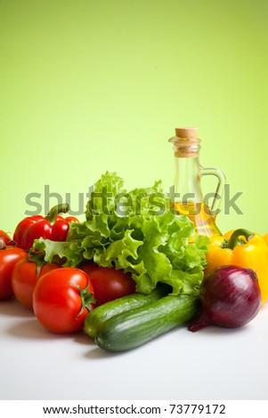 fresh vegetables still life