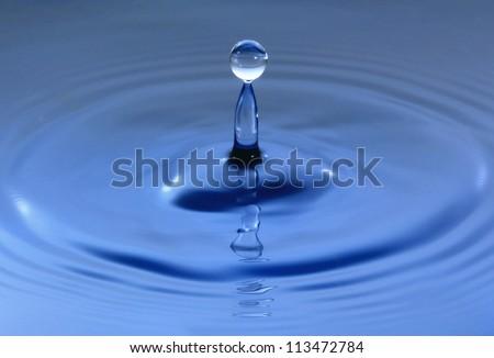 fresh water droplet