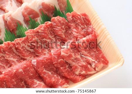 Freshness Japanese meat for Korean BBQ