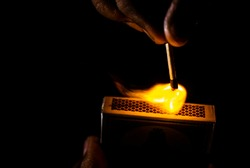 Frictional Ignition of match stick