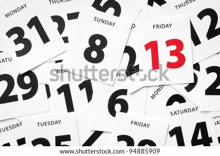 Friday 13 th misfortune