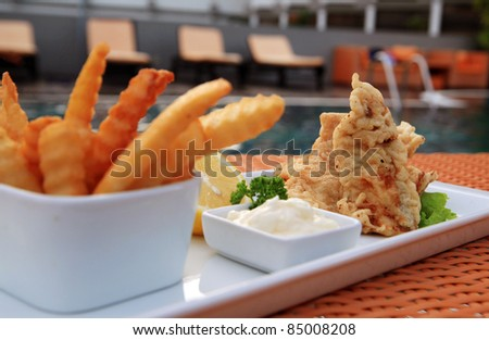 Banana French Fries Fried Banana Snack With French