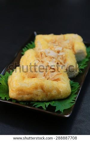 Fried bean curd/Japanese food