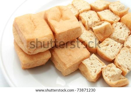 Fried Tofu Puffs Fried Beancurd or Tofu Puff