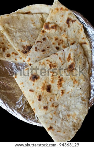 fried bread of india - cheese and Garlic Naan Indian Flatbread