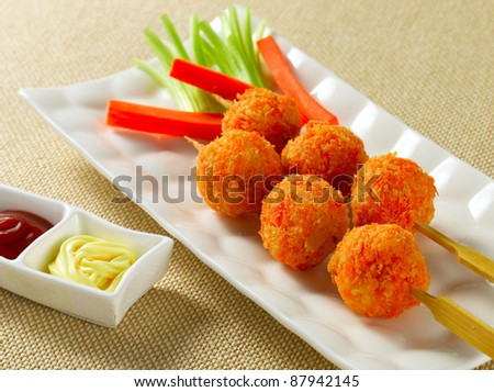 fried cheese ball