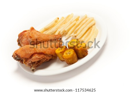 Banana French Fries French Fries And Banana