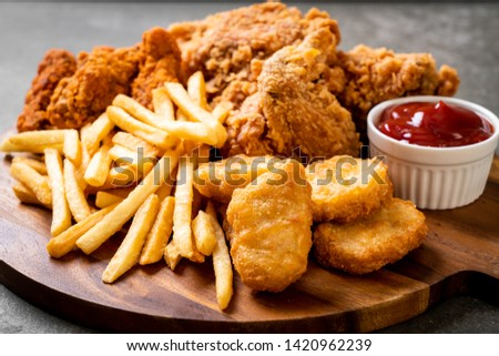 Unhealthy food Images and Stock Photos - Avopix com