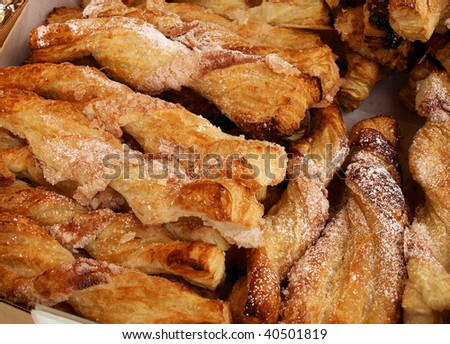 fried pastries for sale at a local fair