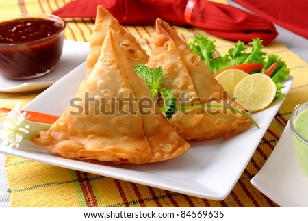 Fried Potato Samosa