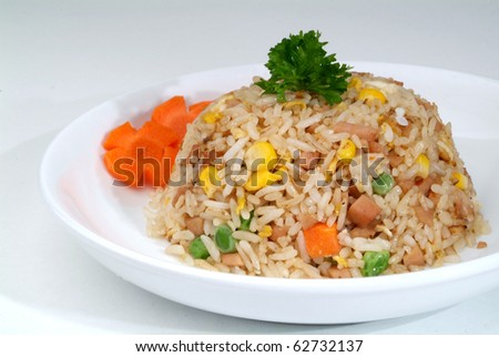 fried rice - malaysian food