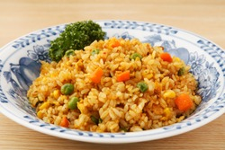 Fried Rice with Curry Flavor