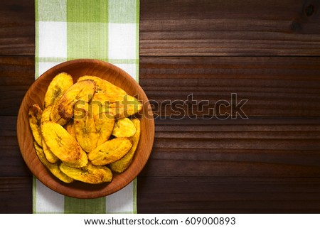 fried slices of ripe plantains  ...