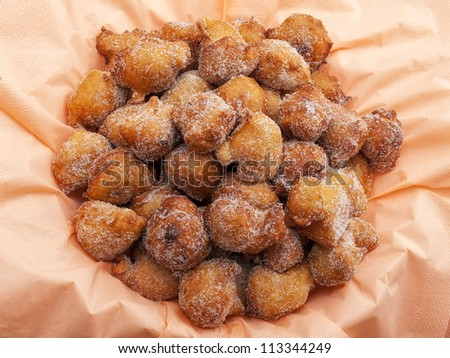 Fried sweet pastry or fritters known as Fritule, is a typical dessert on the Adriatic coast.