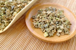 Fried Tribulus terrestris with Chinese herbal medicine