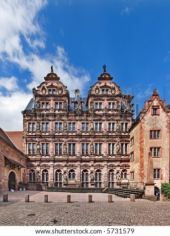 Friedrichsbau, Heidelberg Castle, Germany