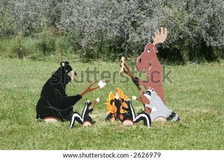 Friendly Animals Picnic