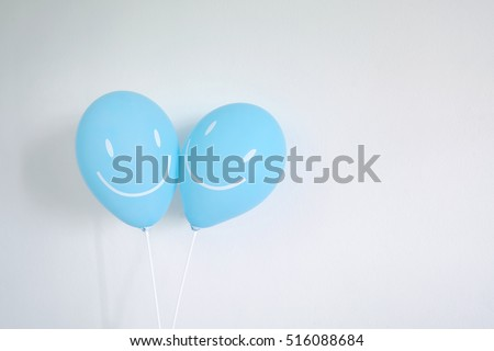 friendly balloon smile #516088684