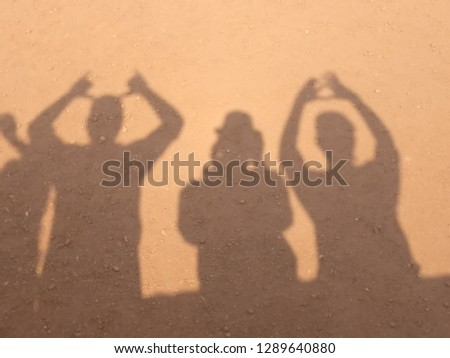 Friends Chilling with some fun and crazy shadow pics