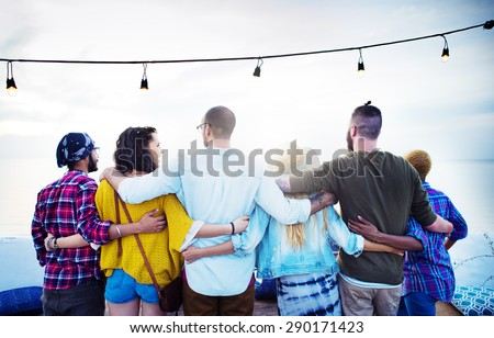 Shutterstock Friends Friendship Group Hug Relationship Concept