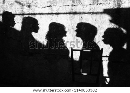 friends in a game of shadows #1140853382