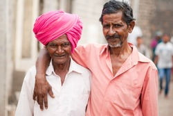 Friends rural village Salunkwadi, Beed, Maharashtra, India