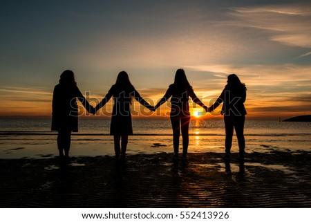 Shutterstock Friendship sunrise