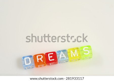 Friendship Term with White Background - Dreams