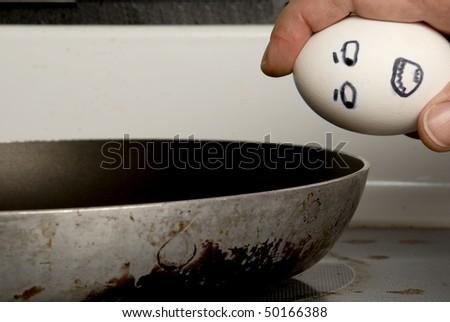 Frightened Egg