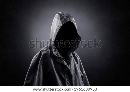 Frightening ghost in the darkness Сток-фото ©