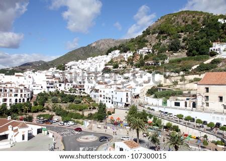 Frigiliana town in Malaga province Spain
