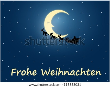 frohe weihnachten stock photo 115353031 shutterstock. Black Bedroom Furniture Sets. Home Design Ideas