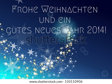 Stock Photo Frohe Weihnachten