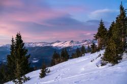 From high on Colorado Mines Peak, Berthoud Pass, Colorado