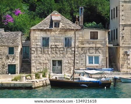 From Pu?i�¡?a on the Island of Bra?, Croatia