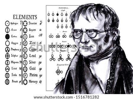 From the series are great chemists. John Daltoon - English physicist and chemist, meteorologist, naturalist and creator of chemical atomism