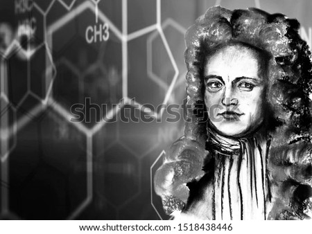 From the series are great chemists. Robert Boyle is an Anglo-Irish natural philosopher, physicist, chemist and theologian. The world's first organizer of science.