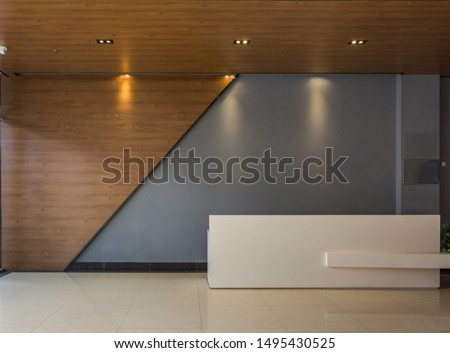 Front display showroom interior design building