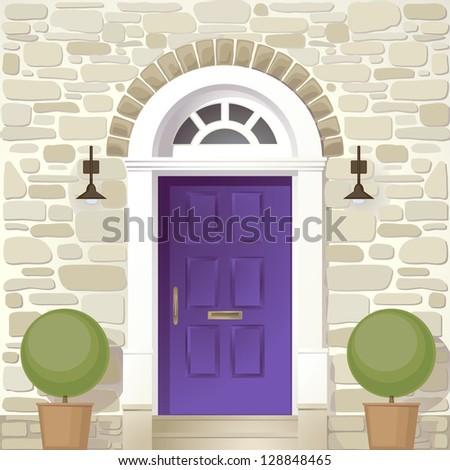front door background , raster