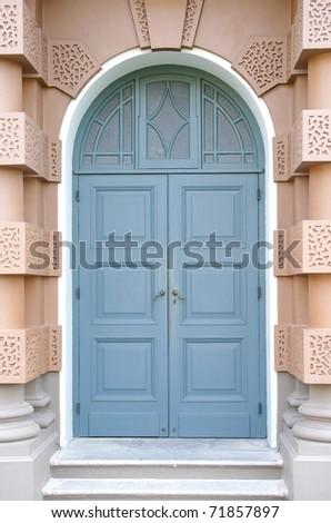 Front Door close-up