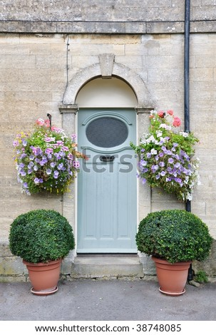 Front Door of a London Town House