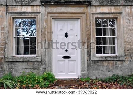 Front Door of a Town House