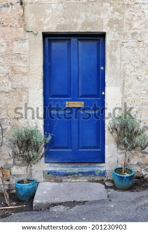 Front Door of an Old House