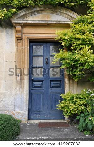 Front Door of an Old Villa