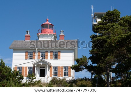 Front look at the light house #747997330