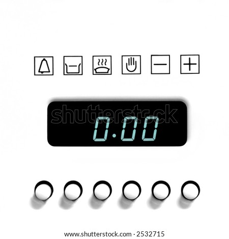 whirlpool oven clock instructions