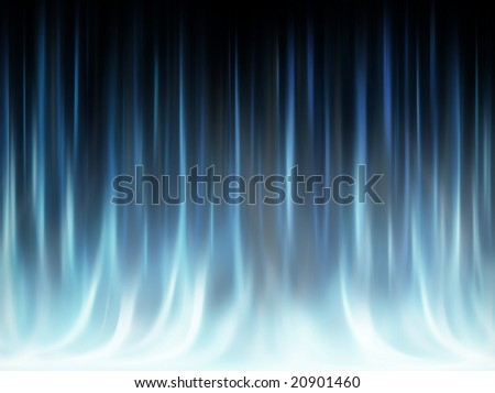 Frost, cold, haze - abstract background - stock photo