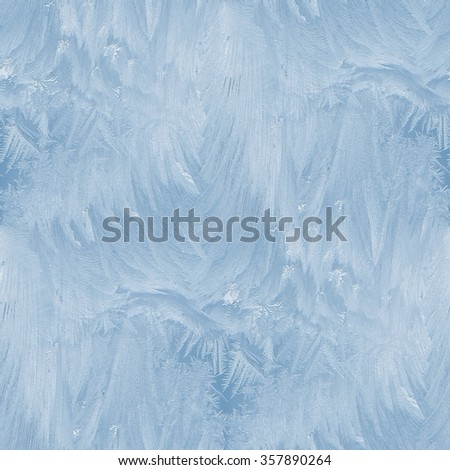 frost seamless pattern - blue winter background #357890264
