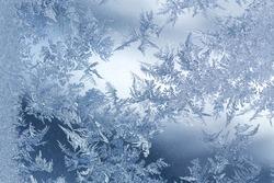 Frost winter pattern